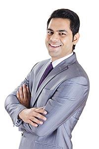 Confident Indian Business Man