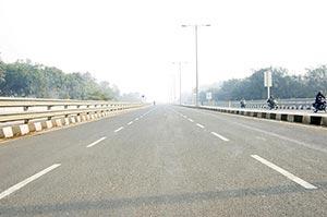 Bridge ; City Life ; Color Image ; Day ; Delhi ; H