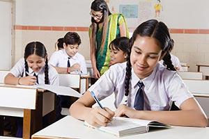 Students Studying Classroom Teacher