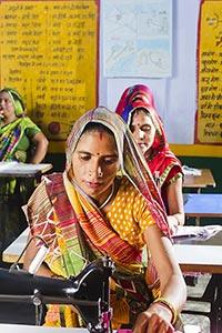Indian Rural Ladies Worker Tailor
