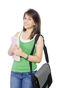 Indian University Girl Student