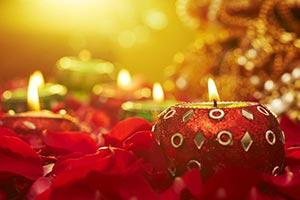 Arranging ; Burning ; Candles ; Celebrations ; Clo