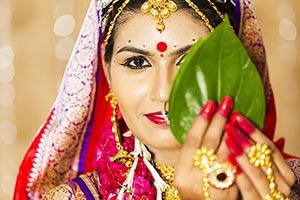 Bride Bengali Wedding Ritual