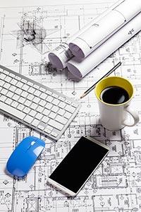 Architect ; Architecture ; Arranging ; Background