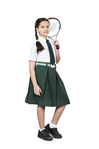 School Girl Student Sport Tennis Player Future Dre