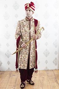 Royal Punjabi Groom Wedding Ceremony Thinking Memo